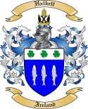 Halkett Family Crest from Ireland