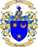 Haller Family Crest from Germany2