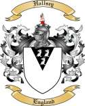 Hallsey Family Coat of Arms from England