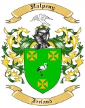 Halpeny Family Crest from Ireland
