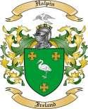 Halpin Family Coat of Arms from Ireland
