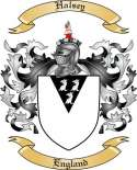 Halsey Family Crest from England