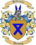 Halterman Family Crest from Germany