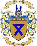 Haltmann Family Crest from Switzerland
