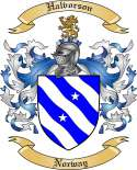 Halvorson Family Coat of Arms from Norway