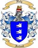 Haly Family Crest from Ireland