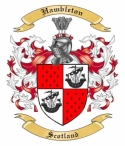 Hambleton Family Coat of Arms from Scotland