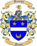 Hamelot Family Crest from France