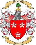 Hamelton Family Coat of Arms from Scotland2