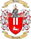 Hamer Family Coat of Arms from Germany