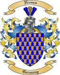 Hames Family Crest from Germany