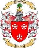 Hamildon Family Coat of Arms from Scotland2