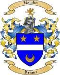 Hamlin Family Crest from France