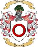 Hamm Family Coat of Arms from Germany