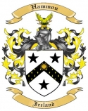 Hammon Family Coat of Arms from Ireland