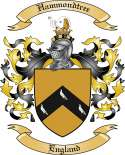 Hammondtree Family Crest from England