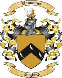 Hammons Family Crest from England
