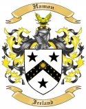 Hamon Family Crest from Ireland