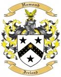 Hamond Family Coat of Arms from Ireland