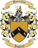 Hamontree Family Crest from England