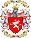 Hamulack Family Crest from Germany