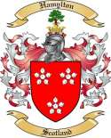 Hamylton Family Crest from Scotland2