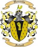 Hancocks Family Coat of Arms from Ireland