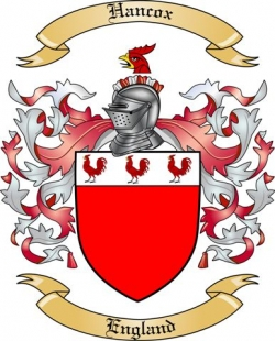 Hancox Family Coat of Arms from England