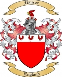 Hancox Family Crest from England