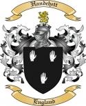 Handchett Family Crest from England