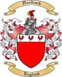Handcock Family Crest from England