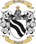 Handford Family Crest from England