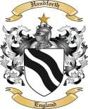 Handforth Family Crest from England