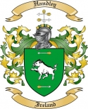 Handley Family Crest from Ireland