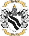 Hanford Family Crest from England