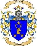 Hangel Family Crest from Sweden