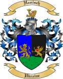 Hanisch Family Crest from Ukraine