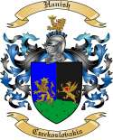 Hanish Family Crest from Czeckoslovakia