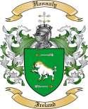 Hannaly Family Crest from Ireland