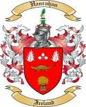 Hanrahan Family Crest from Ireland