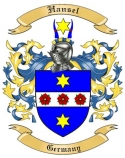 Hansel Family Crest from Germany