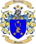 Hansson Family Coat of Arms from Sweden