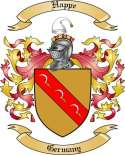 Happe Family Coat of Arms from Germany