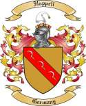 Happeli Family Coat of Arms from Germany
