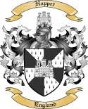 Happer Family Crest from England