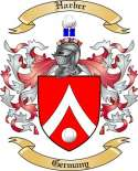 Harber Family Crest from Germany