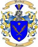 Harbert Family Crest from France