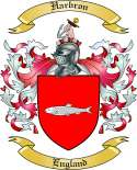 Harbron Family Crest from England