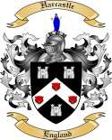 Harcastle Family Crest from England
