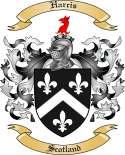 Harcis Family Coat of Arms from Scotland